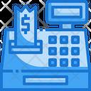 Cash Register Eletronics Payment Icon