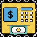 Cash Register Point Of Sale Billing Machine Icon