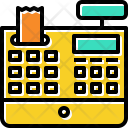 Cash Register Cashire Icon