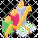 Cash Statistics Icon