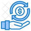 Cash Transfer Pay Cash Icon