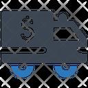Cash Truck Icon
