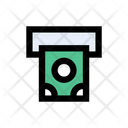 Withdraw Cash Banking Icon