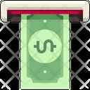 Cash Withdraw Money Withdraw Atm Machine Icon