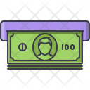 Atm Banknote Bank Icon