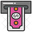 Cash Withdrawal Icon