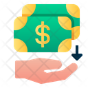 Cashback Money Dollar Icon