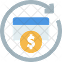 Cash Back Cashback Cash Reuse Icon