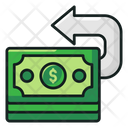 Cashback Money Return Payment Refund Icon