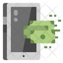 Cash Back Mobile Icon