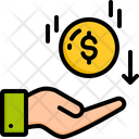 Cashback Refund Dollar Icon