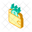 Back Money Wallet Icon