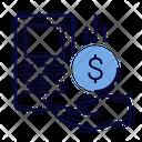 Cashback Coin Pos Terminal Icon