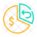 Pie Chart Cashback Icon