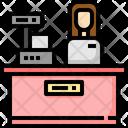 Cashier Restaurant Shop Icon