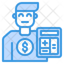 Cashier Accountant Avatar Icon
