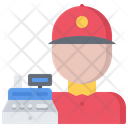 Cashier Cashbox Fast Icon