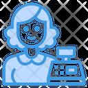 Cashier Clerk Avatar Icon