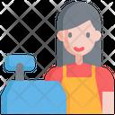 Cashier Machine Shop Icon