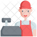 Cashier Profession Jobs Icon