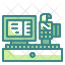 Cashier Cash Register Cashier Machine Icon