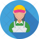 Cashier Helper Female Icon