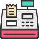 Cash Register Cashier Machine Machine Icon