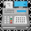Cashier Cash Register Icon