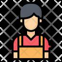 Cashier Man Icon