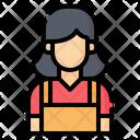 Cashier Woman Icon