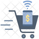 Cashierless Store Cashless Payment Icon