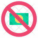 Cashless Money Duty Icon