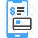 Cashless Payment Smartphone Mobile Icon