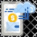 Cashless Bank Money Icon