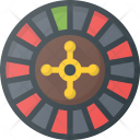 Casino Roulette Leisure Icon