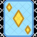 Casino Card Diamond Icon