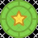 Casino Chip Game Icon