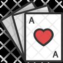 Heart King Poker Icon