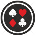 Casino Poker Gamble Icon