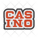 Casino Amusement Park Gambling House Icon