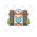 Casino Club Commercial Building Icon