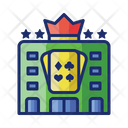 Casino Gaming House Gaming Club Icon