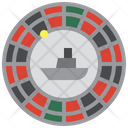 Casino Roulette Bet Icon
