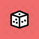 Casino Dice Gambling Icon
