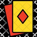 Casino Card Casino Diamond Card Icon