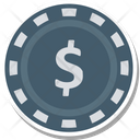 Casino Chip Icon