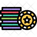 Casino Chips Games Icon