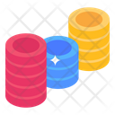 Poker Chips Chips Stacks Casino Chips Stack Icon