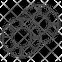 Casino Coin Coin Casino Icon