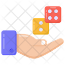 Casino Dices Dices Gambling Dices Icon
